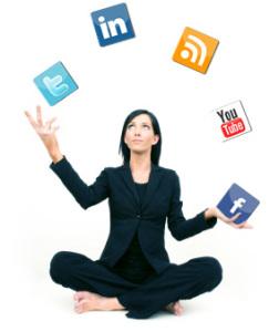 Social Media Juggling