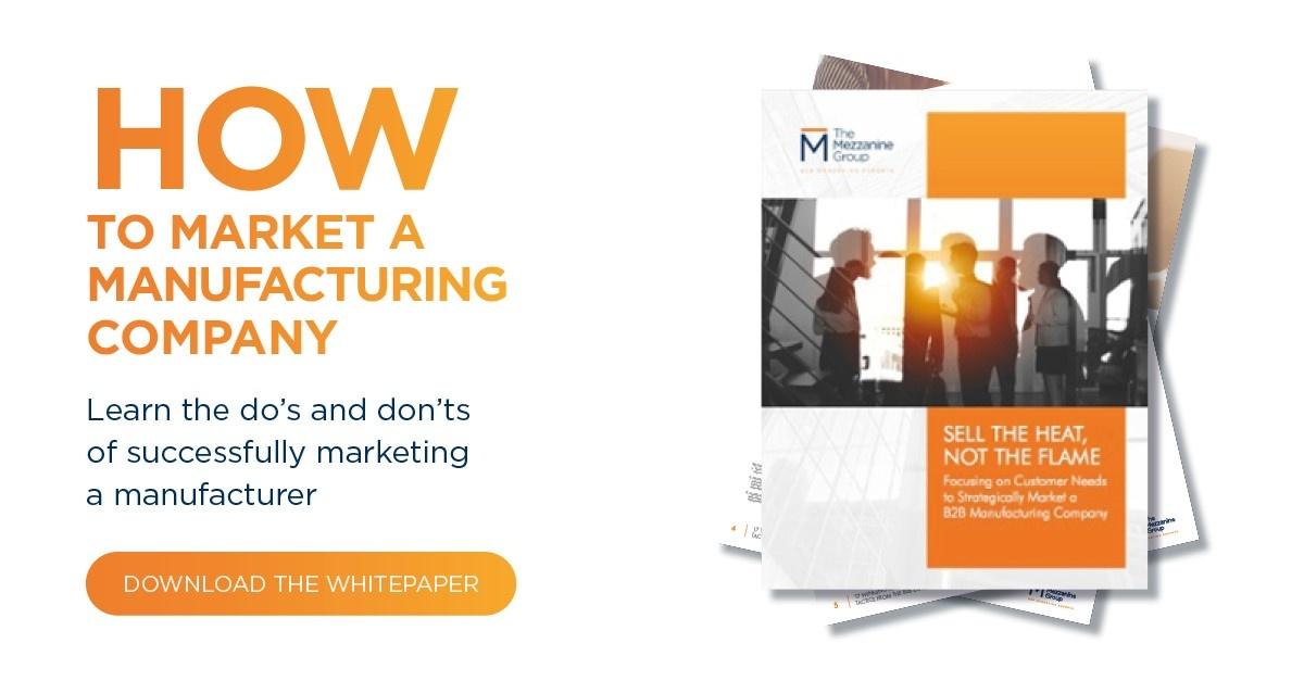 3 Marketing Essentials For Manufacturers