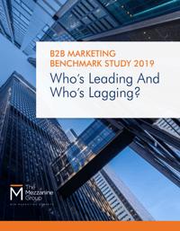B2B Marketing Benchmark Study 2019