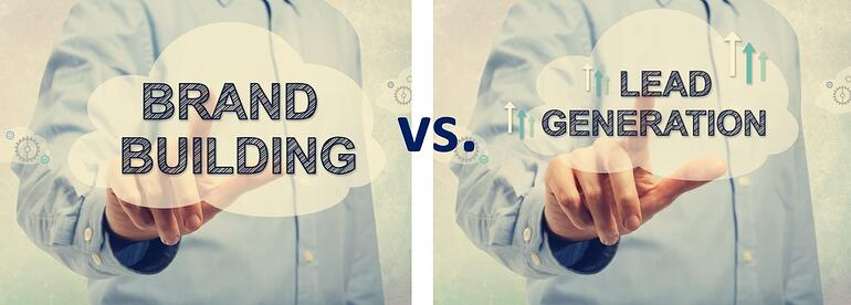 Brand awareness vs lead generation