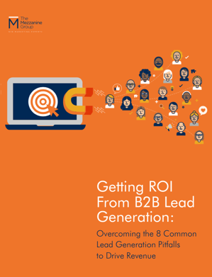 Getting ROI from Lead Generation Cover