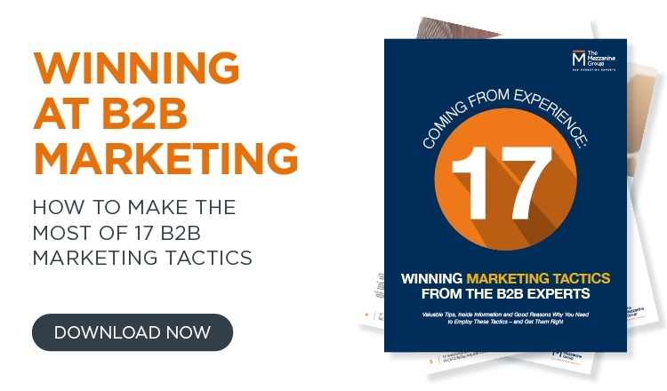 Make the most of these 17 B2B marketing methods